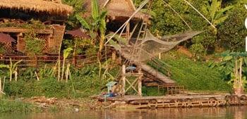 Croisière le long de la rivière Mae Ping