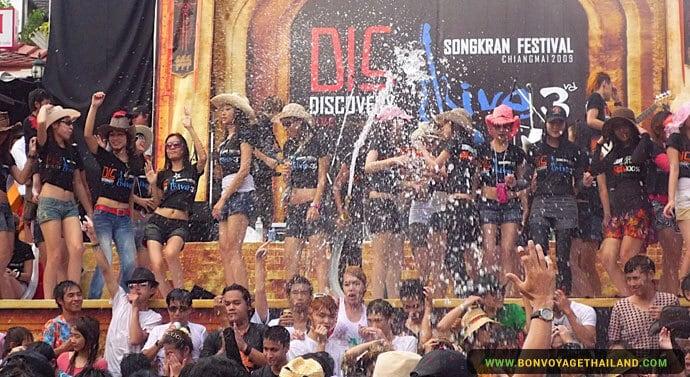 Le Festival Songkran à Chiang Mai - Party !
