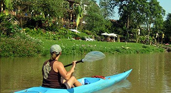 Kayaking in Chiang Mai