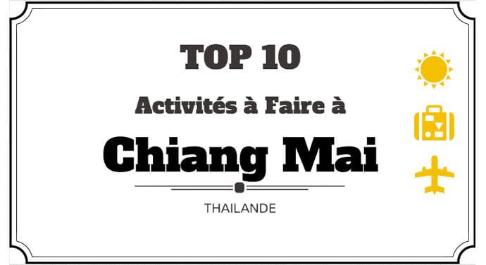 10 activités à faire à Chiang Mai