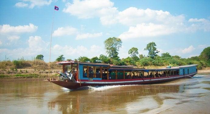 Luang Prabang Slow Boat