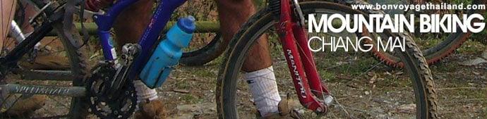 Vélo de montagne à chiang mai