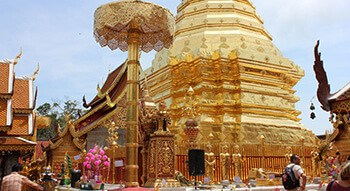 Visité le Temple Doi Suthep