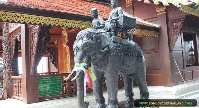 Chiang Mai Éléphant - Doi Suthep