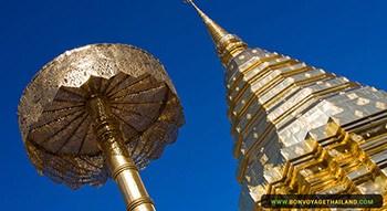 Au sommet de Chiang Mai, le Wat Phra That Doi Suthep