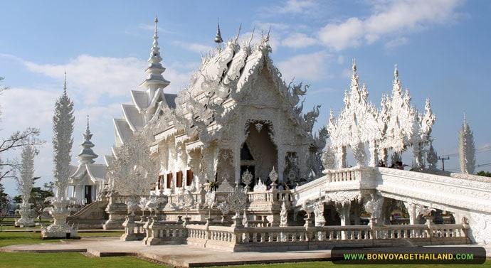 Temple Blanc à Chiang Rai
