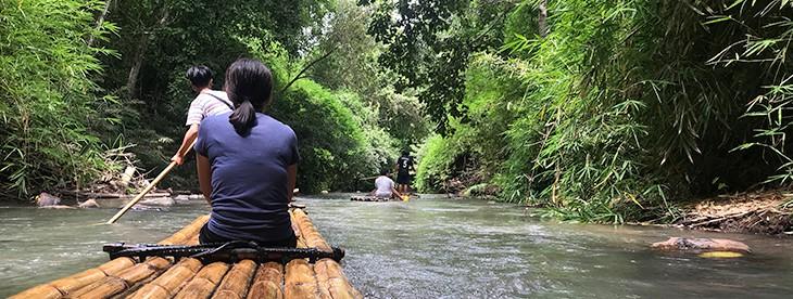 Chiang Mai Elephant Sanctuary & Trekking Bamboo Rafting