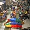 Damnoen Saduak Floating Market- Bridge Over River Kwai