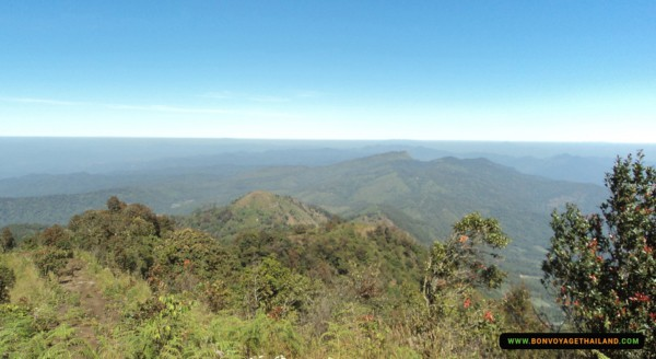 breathtaking view of doi inthanon national park