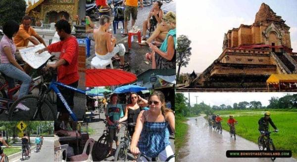 chiang mai city biking
