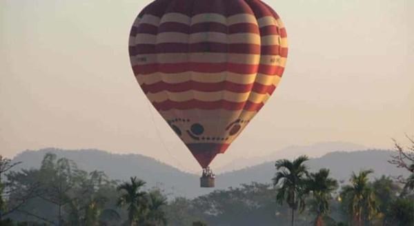 balloon flight over chiang mai