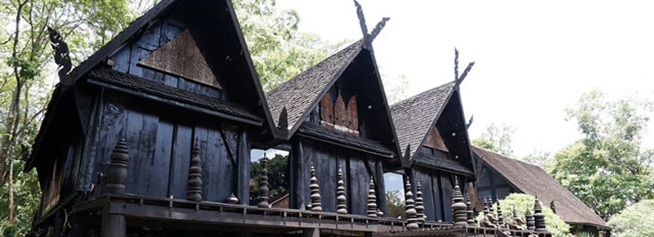 black house (baan dam) in chiang rai