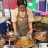 local street food stall vendor