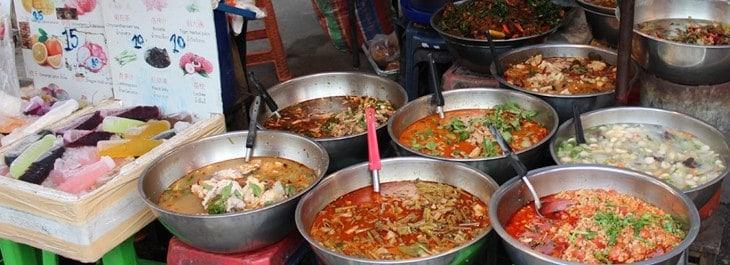 local street food stall