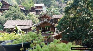 view of mae kampong village