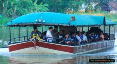 cruising along the ping river