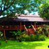 beautiful teak house