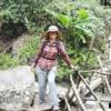 women trekking on pha dok siew nature trail