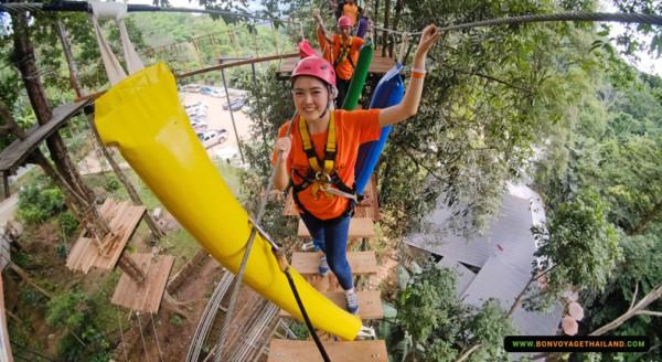 pongyang jungle coaster zipline