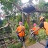 jungle bicycles at pongyang jungle coaster zipline
