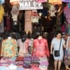 lanna traditional clothing shop at warorot market