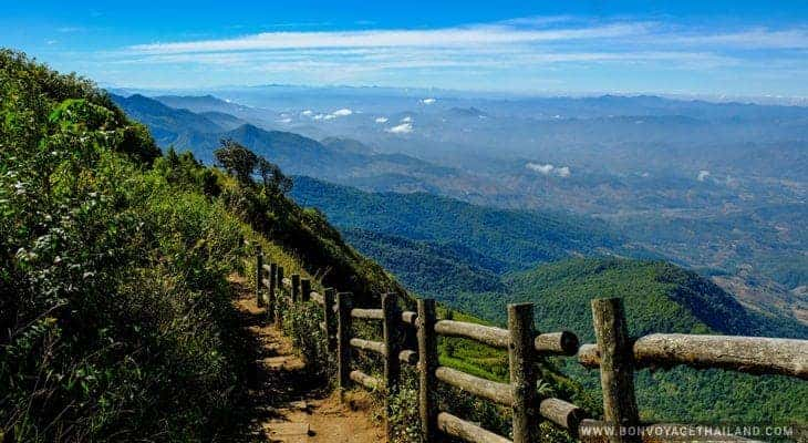 kew mae pan nature trekking trail