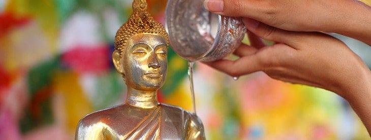 Songkran Festival Buddha