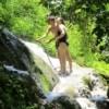 Sticky Waterfall People Climbing