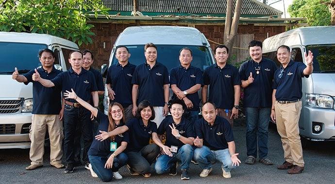 Team Bon Voyage Thailand