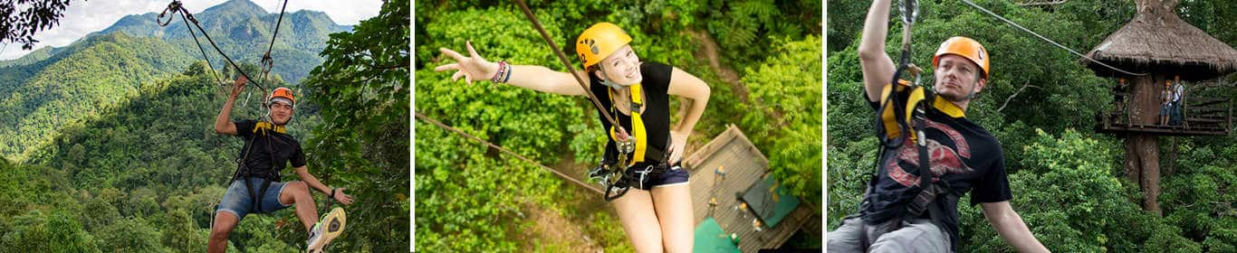Best Zipline in Chiang Mai