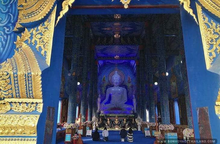Blue Temple Entrance