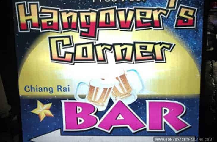 Hangover's Bar à Chiang Rai
