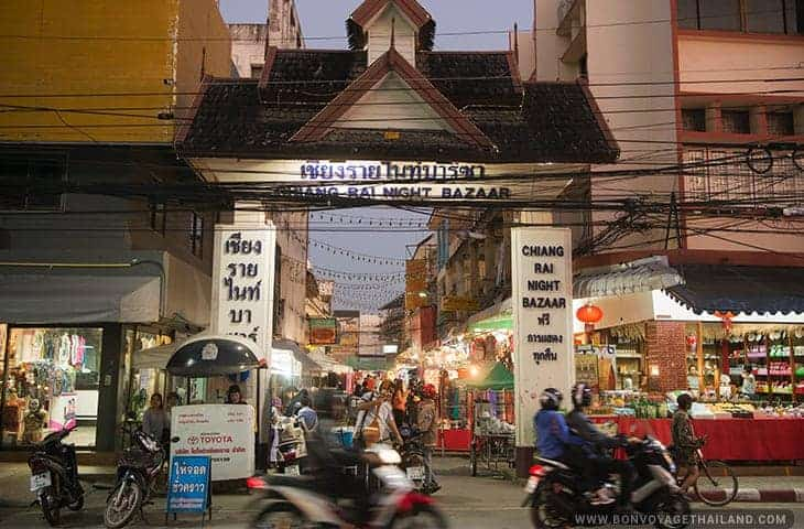 Bazar de nuit de Chiang Rai