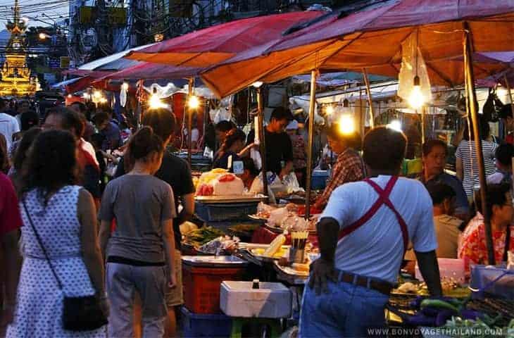 Chiang Rai Walking Street
