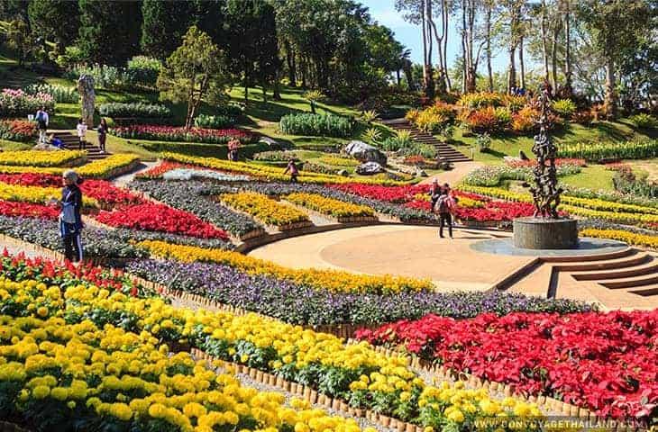 Doi Tung Palace Garden