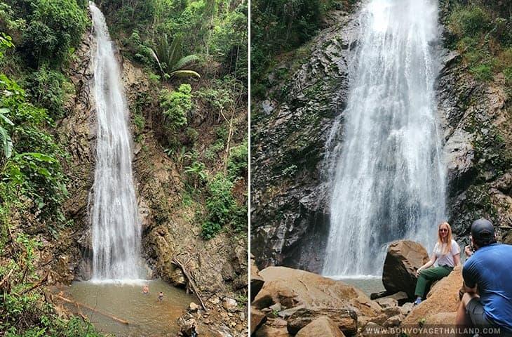 Khun Kon Waterfall Chiang Rai