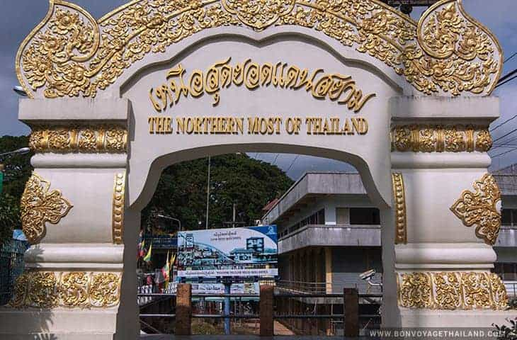 Mae Sai Border The Northern Most of Thailand