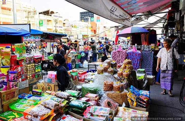Mae Sai Market Chiang Rai