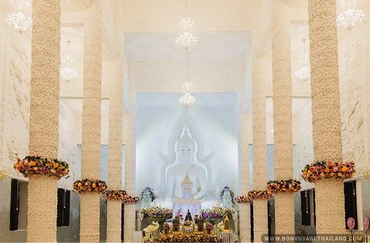 Guan Yin Statue White All
