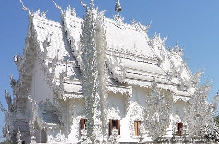 White Temple Three Tiered Roof