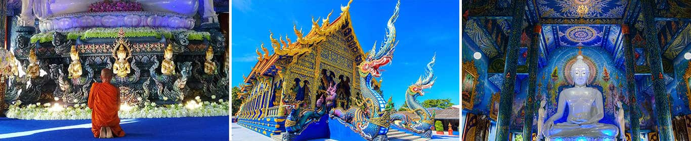 The Blue Temple / Wat Rong Suea Ten