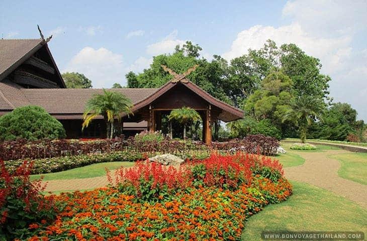 Les jardins du Palais de Doi Tung