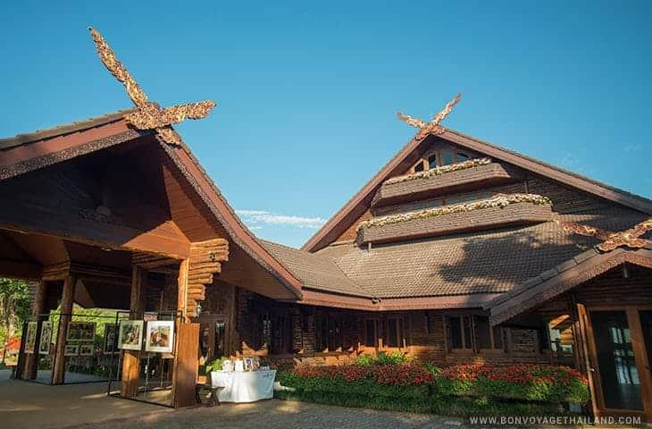 Palais de Doi Tung - le décor