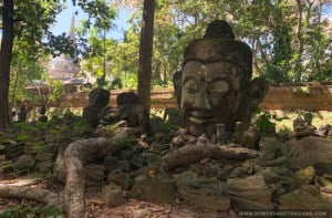 Wat Umong Statue