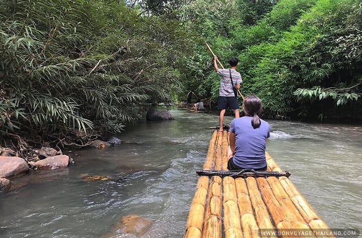 Bamboo Rafting Mae Wang River
