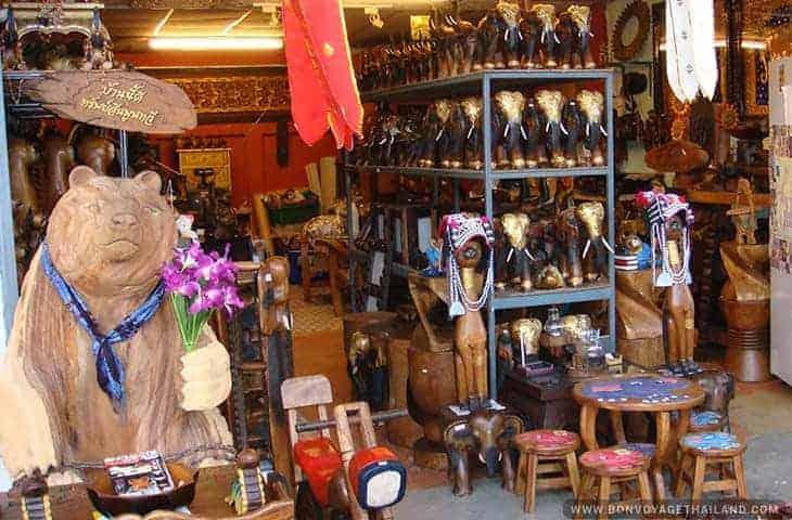 San Kamphaeng Handicraft Village
