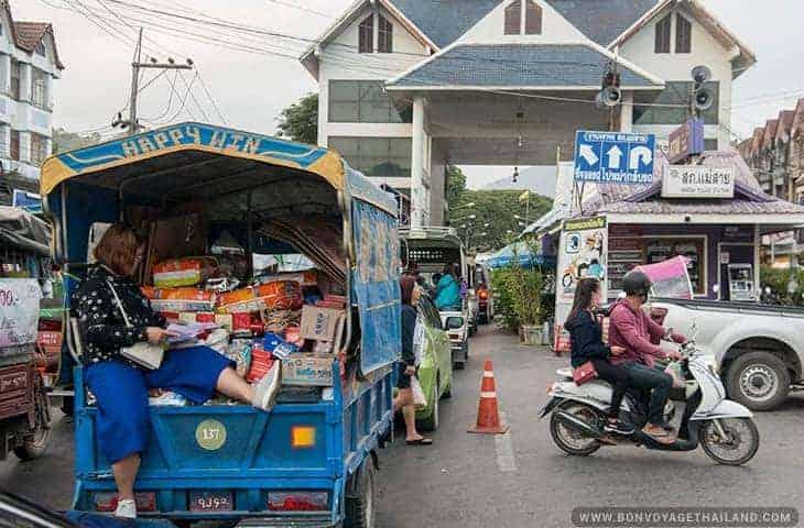 Mae Sai Border Truck