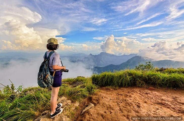 Phu Chi Fa in the Cloud