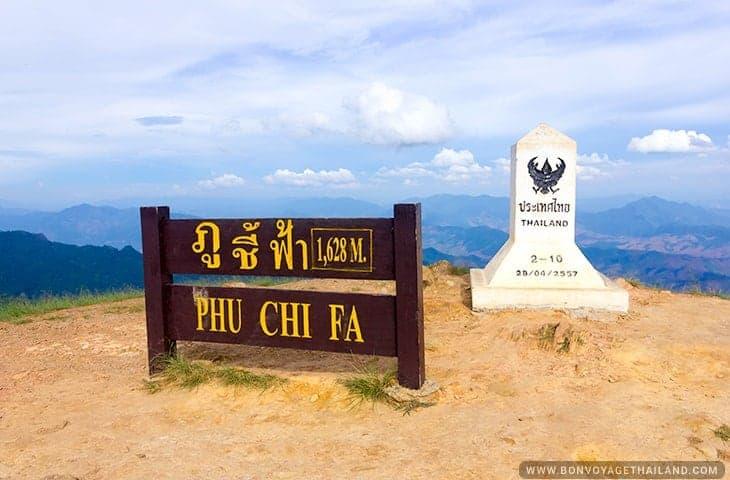 Phu Chi Fa Sign