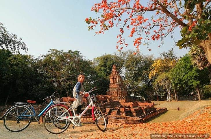 Bikes at Wiang Kum Kam